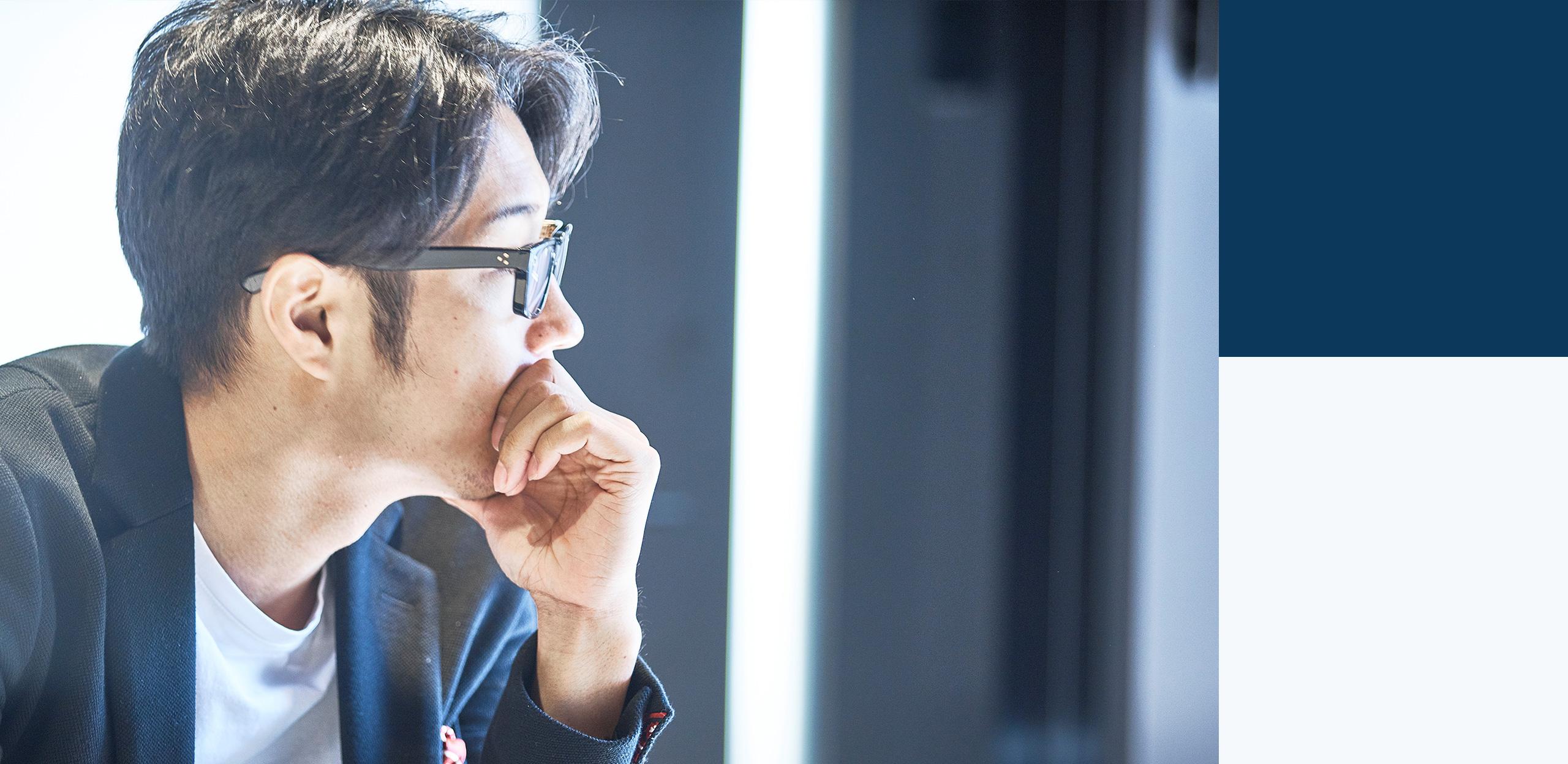 次の時代のインフラづくりを、 世界規模で 代表取締役 大野 暉